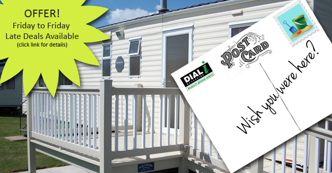 'One Off' Special Discount on selected weeks at our Mablethorpe Caravan!